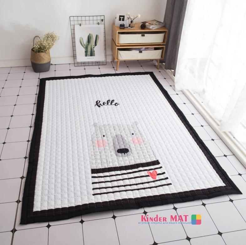 Стёганый коврик «Bear». Размер 200×150 см