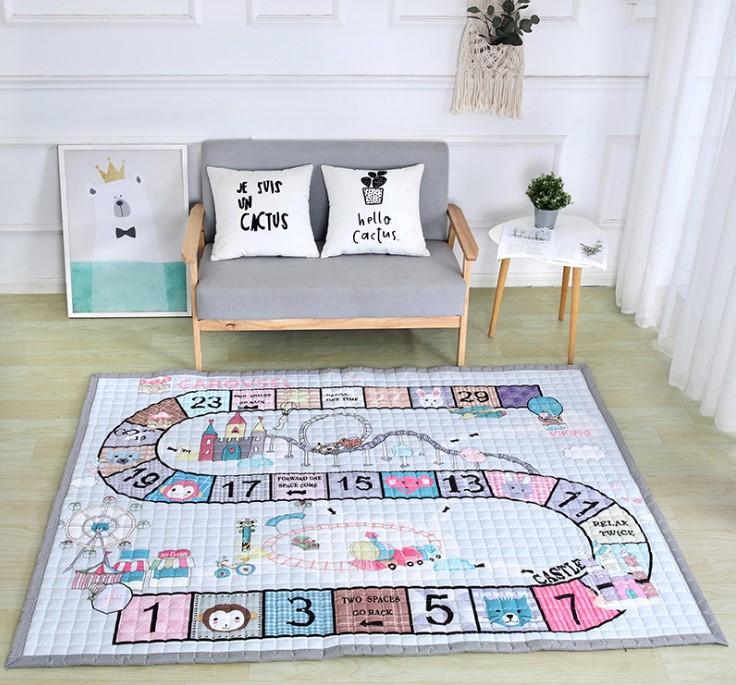 Стёганый коврик «классики» Размер 200×150 см