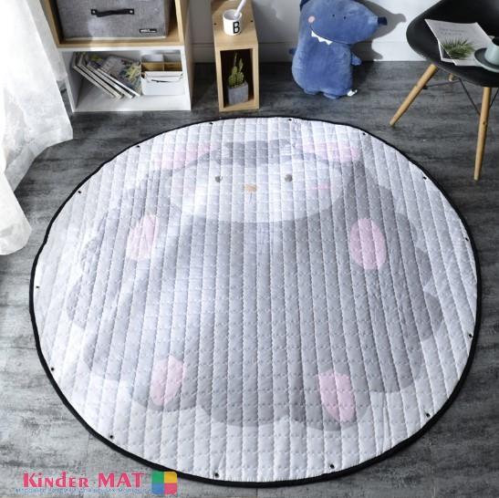 Стеганый коврик-мешок «Овечка» Диаметр 150 см