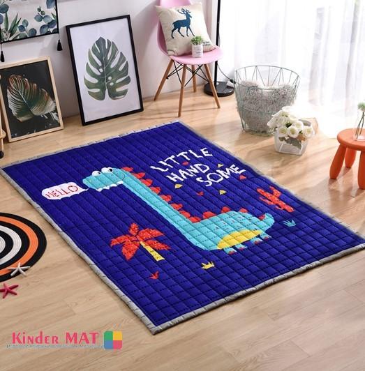 Стёганый коврик «Hello Дино» Размер 200×150 см