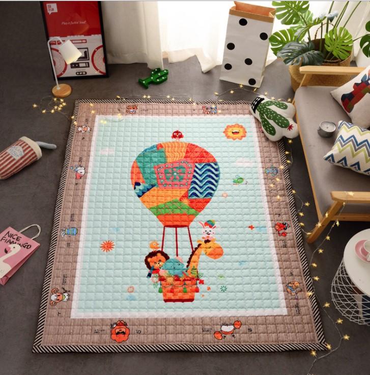 Стёганый коврик » Воздушный шар» Размер 200×150 см