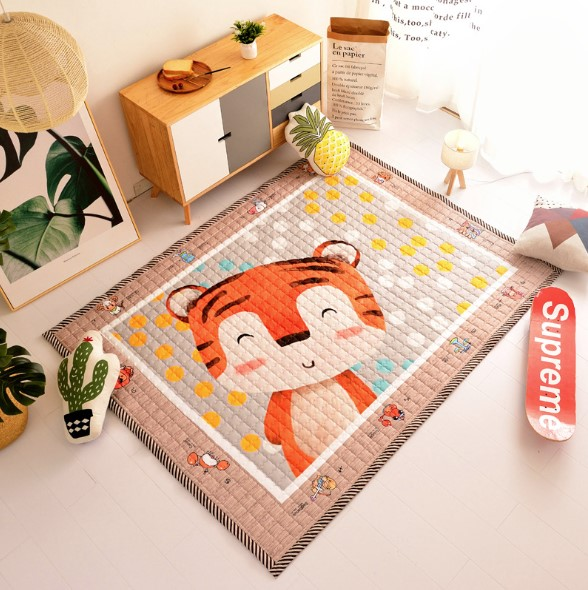 Стёганый коврик «Тигра» Размер 195×145 см