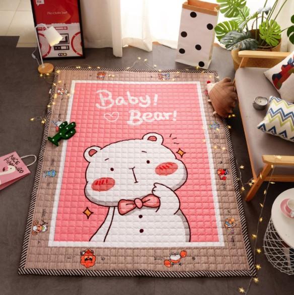 Стеганый коврик «baby bear» Размер 195×145 см
