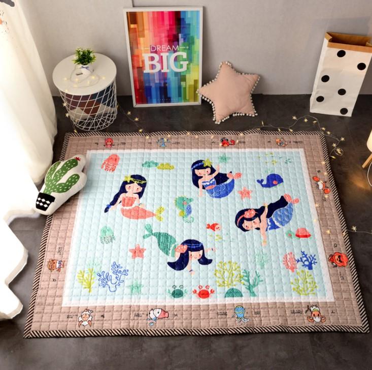 Стёганый коврик «Русалки» Размер 200×150 см