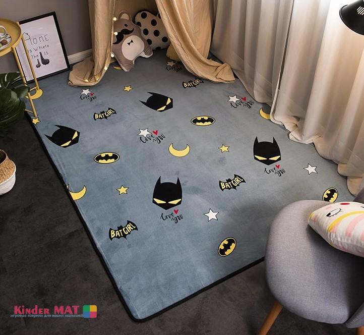 Плюшевый коврик  «Batman» Размер 195×145 см