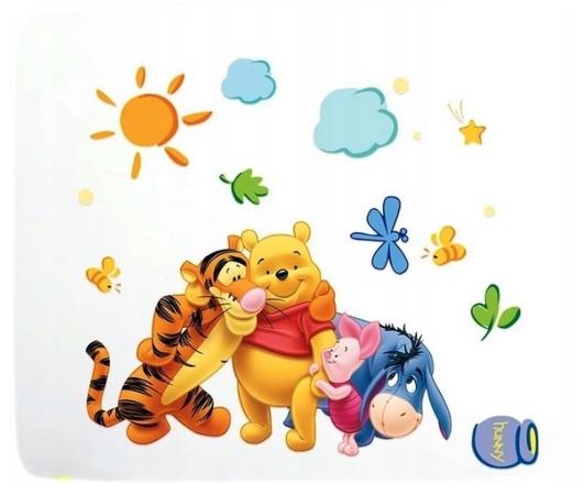 Наклейка Винни-Пух и его друзья