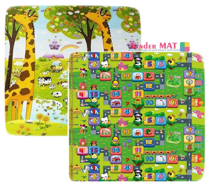 Жираф и лабиринт — размер 200×180