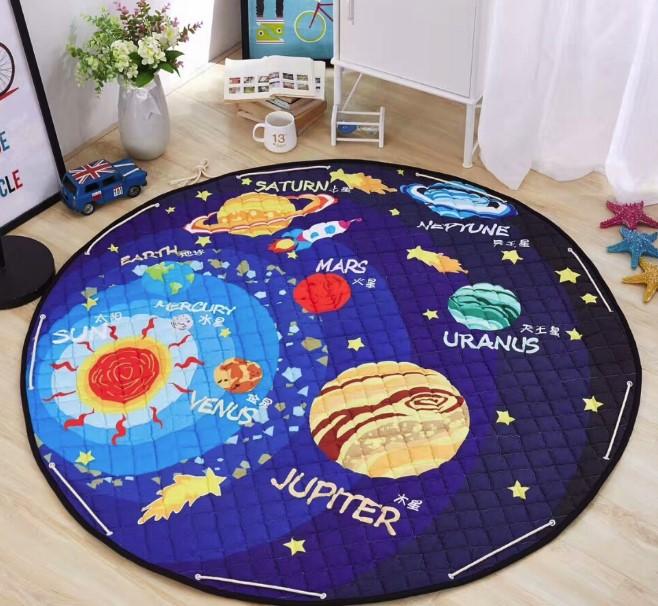 Стеганый коврик-мешок «Космос»