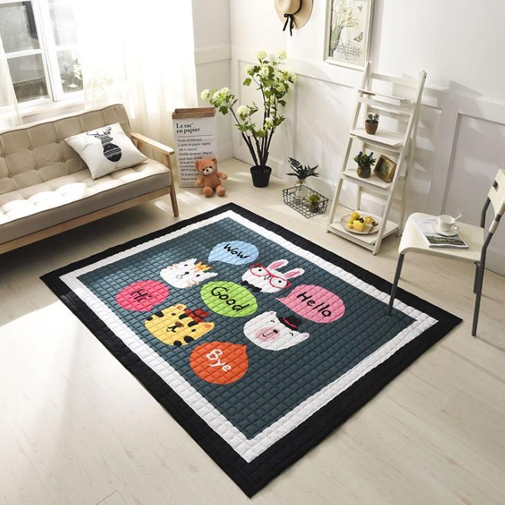 Стёганый коврик «WOW» Размер 200×150 см