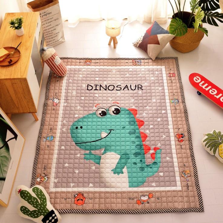Стёганый коврик «Динозавр» — размер 195×145
