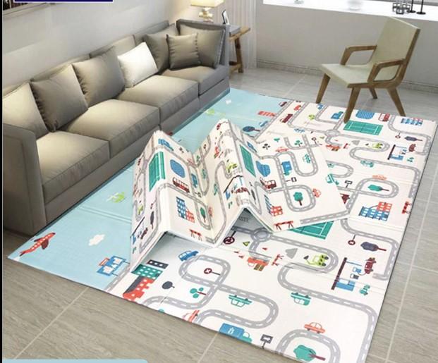 Складной коврик «London» Размер 200x150x1 см