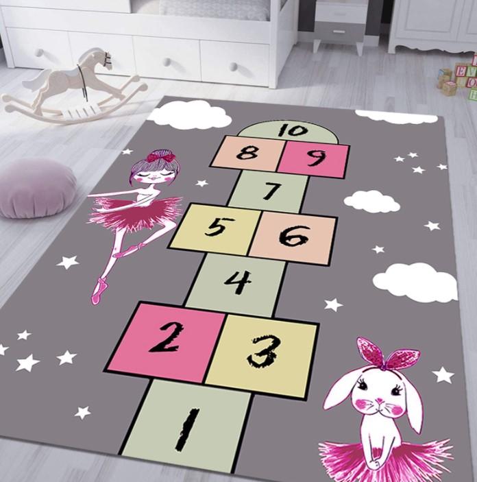 Плюшевый коврик без наполнителя «Класики и принцессы» Размер 200×140 см