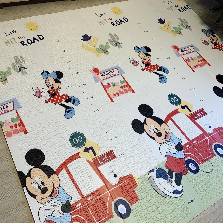 Складной коврик XPE » Disney Олень и машинки» Размер 200x180x1 см