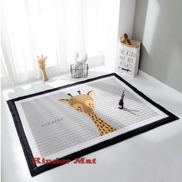 Стёганый коврик «Жираф» — размер 200×150 см.