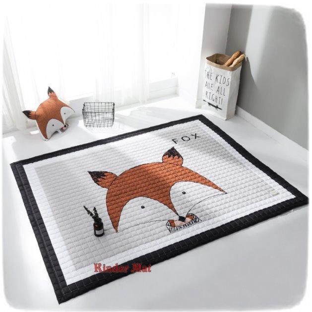 Стёганый коврик «Лиса» — размер 195×145