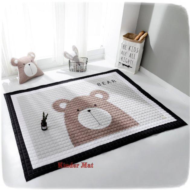 Стёганый коврик «Медведь» — размер 195×145 см.