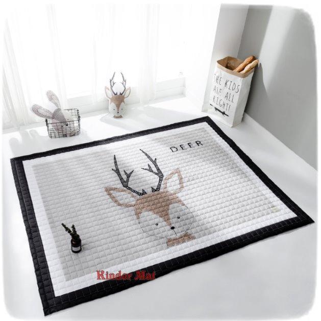 Стёганый коврик «Олень» — размер 200×150