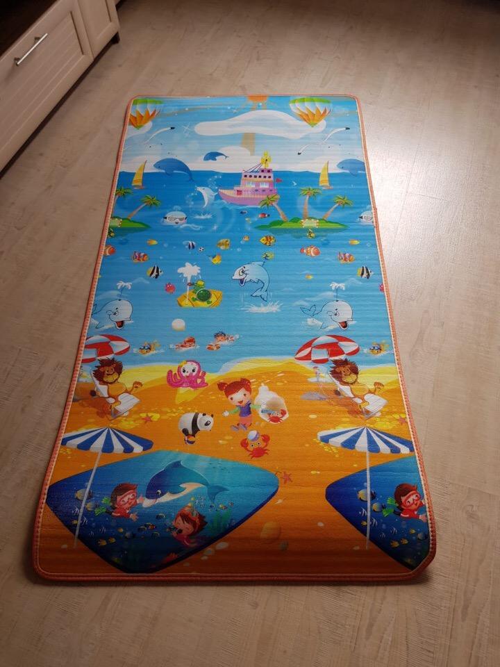 Пляж и мордашки. Размер 180×90 cm