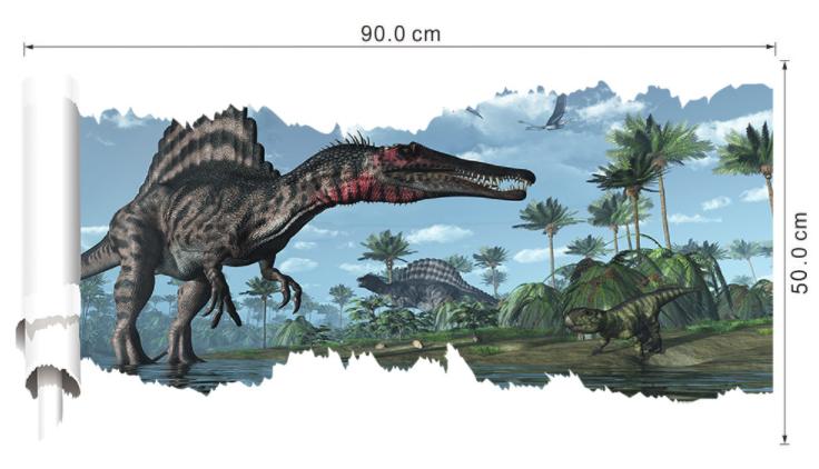 Наклейка  «Динозавры»