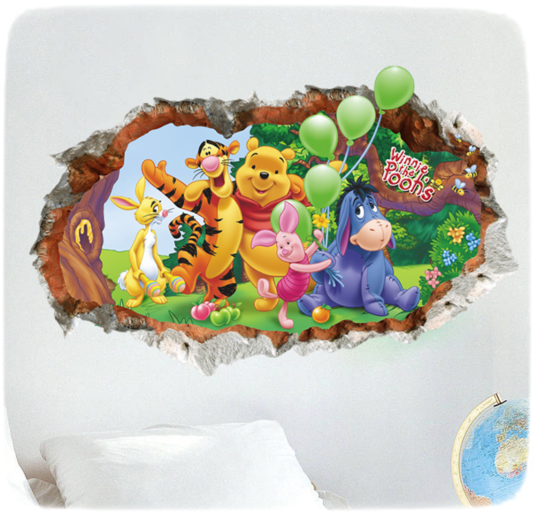 Наклейка «Винни и его друзья»