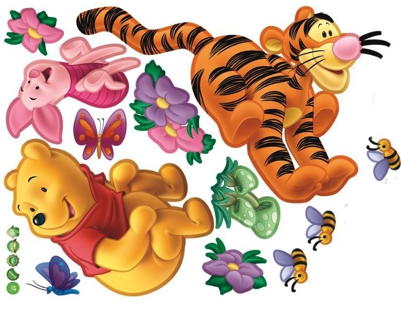 Наклейка «Тигра и друзья»