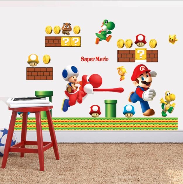 Наклейка «Марио»