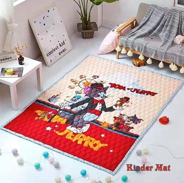 Стеганый коврик «Том и Джерри» — размер 200×150